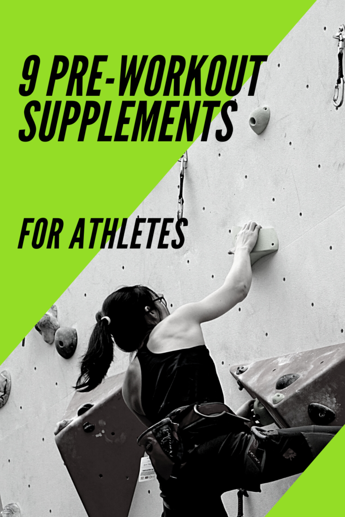 pre-workoutThe best  supplements for athletes enable them to perform better.